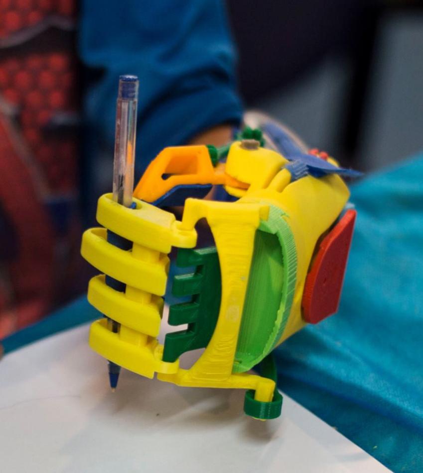 Argentinaton: regalan protesis 3D en todo el pais